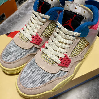 "NIKE - UNION×AIR JORDAN 4 ""GUAVA"""