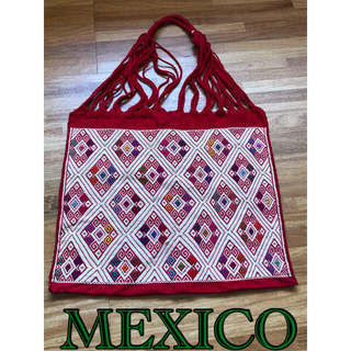イデー(IDEE)のメキシコ ハンモックバック(ララインサール織)(トートバッグ)