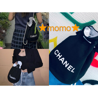 CHANEL - CHANEL 巾着 ポーチ♦巾着バッグ♦リュックサック  キャンバス