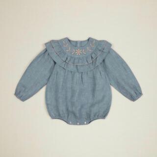 Caramel baby&child  - Apolina 刺繍 ロンパース ボンネット アポリナ