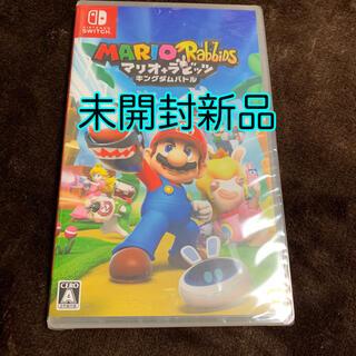 Nintendo Switch - 未開封新品 マリオ+ラビッツ キングダムバトル switch スイッチ