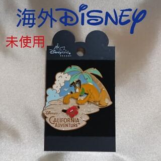 Disney - 海外ディズニー ピントレーディング ピンバッジ プルート カルフォルニア 未使用