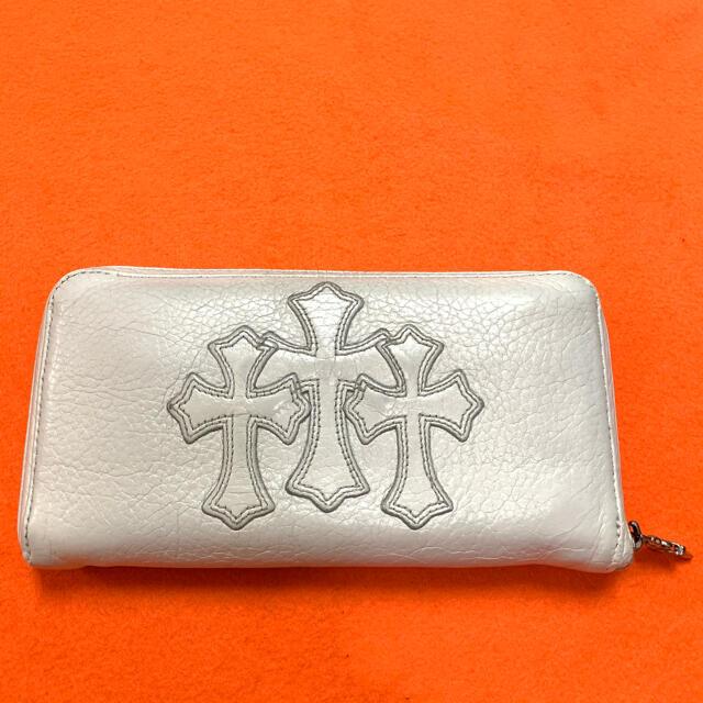 Chrome Hearts(クロムハーツ)の激安‼︎本物!!!セメタリークロス  財布 ウォレット チェーン キーチェーン  メンズのファッション小物(長財布)の商品写真