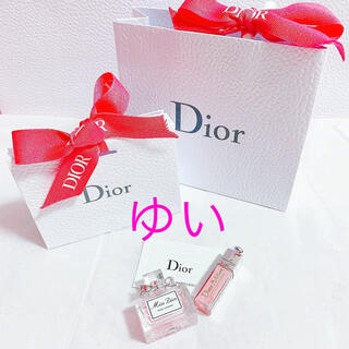Dior - ミスディオールローズ&ローズミニチュアノベルティ香水サンプルミニマキシマイザー