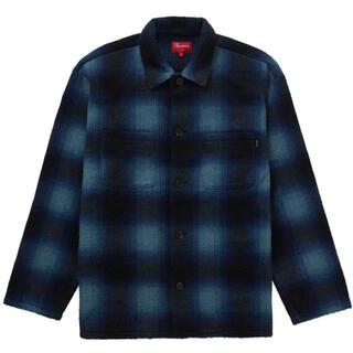 Supreme - 新品L  Supreme Shadow Plaid Fleece shirt
