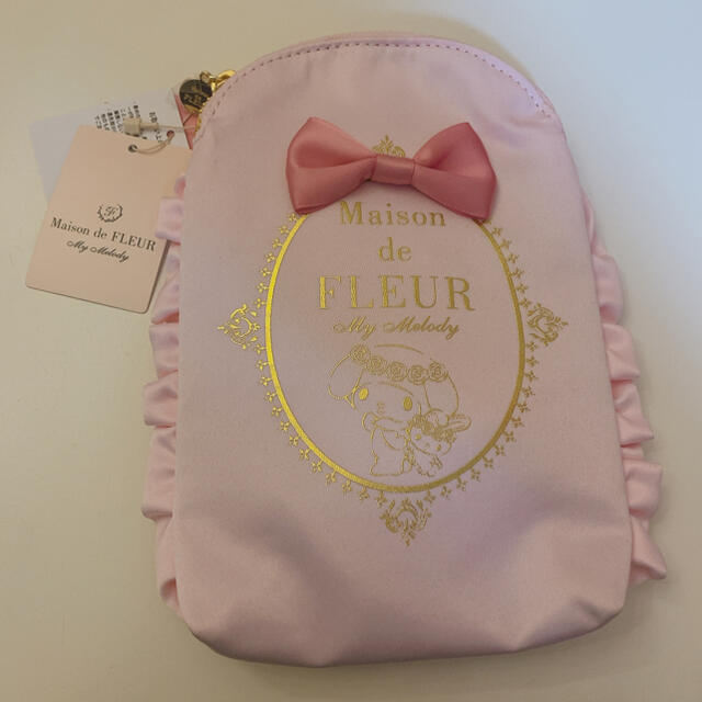 Maison de FLEUR(メゾンドフルール)のマイメロディコラボ♡Maison de FLEUR モバイルショルダーバッグ レディースのファッション小物(ポーチ)の商品写真