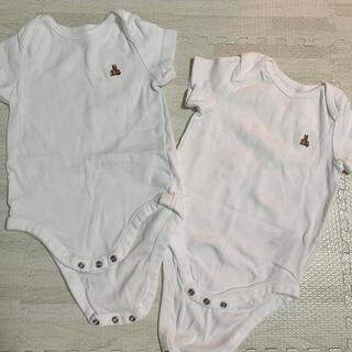 babyGAP - baby GAP ロンパース 肌着 2枚セット