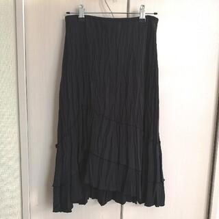 クードシャンス(COUP DE CHANCE)のCOUP DE CHANCE★スカート 36 黒(ひざ丈スカート)