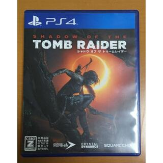 PlayStation4 - シャドウ オブ ザ トゥームレイダー PS4 動作確認済