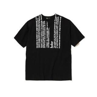 kolor - kolor カラー 20SS 度詰め天竺 ラベル Tee Tシャツ
