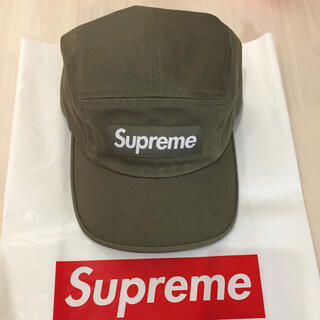 Supreme - supreme キャップ カーキ 20ss