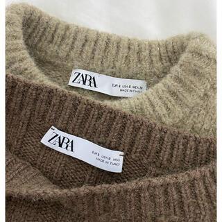 ZARA - ZARA ニット2枚セット Sサイズ