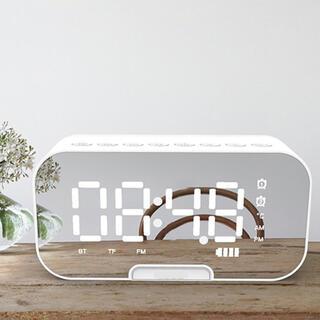 【新品】スピーカー Bluetooth5.0 ワイヤレススピーカー 目覚まし時計