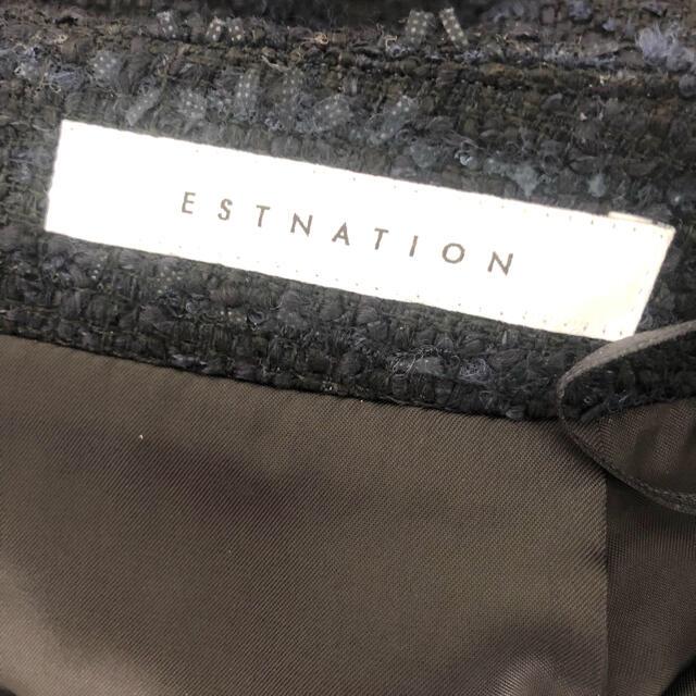 ESTNATION(エストネーション)のエストネーション♦︎美品ツィードスカート♦︎定価24200円♦︎卒業入学に♡ レディースのスカート(ひざ丈スカート)の商品写真