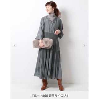 Spick and Span - ワッシャーサテンティアードワンピース 完売品