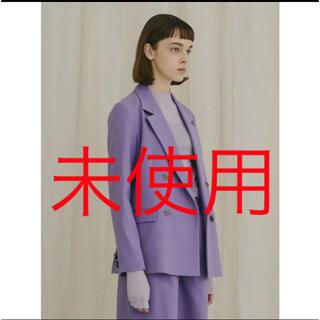 Lily Brown - 今期新商品 ツイルダブルジャケット
