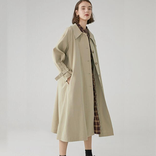 ステュディオス(STUDIOUS)の【Fano Studios】Drop neck Bal collar coat(トレンチコート)