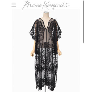 mame - 完売品♡21SS mame Curtain Lace Dress