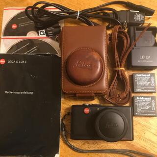 ライカ(LEICA)のleica d-lux3(コンパクトデジタルカメラ)