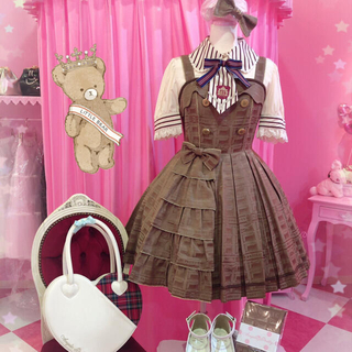 Angelic Pretty - Melty Ribbon Chocolate