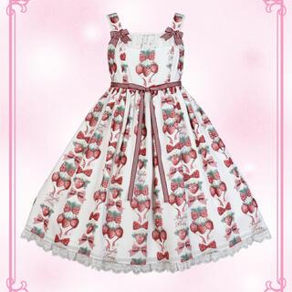 アンジェリックプリティー(Angelic Pretty)のStrawberry Doll(ひざ丈ワンピース)