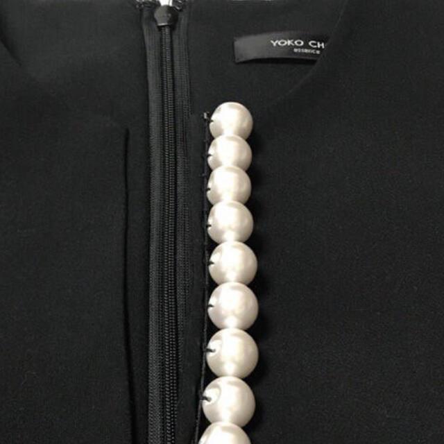 FOXEY(フォクシー)の美品🌸Yoko chan ヨーコチャン パール ワンピース レディースのワンピース(ひざ丈ワンピース)の商品写真