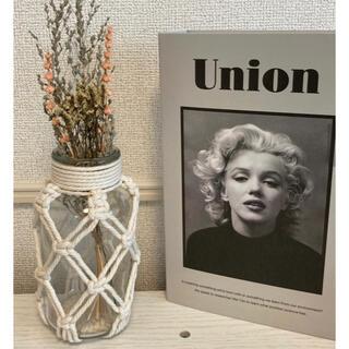 3COINS - スリーコインズ ガラスマクラメベース 花瓶 北欧 スリコ 新品未使用品