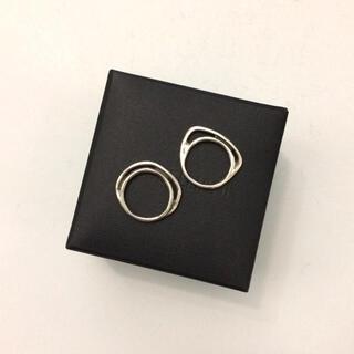 IOSSELLIANI - IOSSELLIANI イオッセリアーニ 2連パズルリング シルバー 指輪