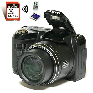 Nikon - 【Nikon】Wi-Fiでスマホへ転送★手のひらサイズ!COOLPIX L110