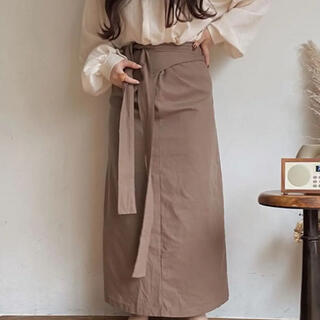 muguet ミュゲ 3way wrap skirt