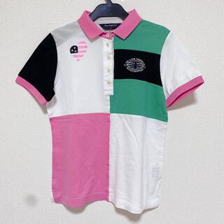 Munsingwear - Munsingwear マンシングウェア レディースゴルフウェア 半袖ポロシャツ