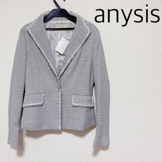 anySiS - 【新品】人気デザイン♡anysis♡テーラードジャケット 入学式 ママスーツ
