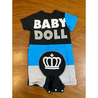 BABYDOLL - BABY DOLL ロンパース 80cm ブラック