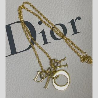 Christian Dior - diorヴィンテージ クリスチャンディオール レディディオールチャームネックレス