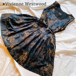 Vivienne Westwood - 極美品 希少♡ヴィヴィアンウエストウッド ワンピース 大きいサイズ イタリア製
