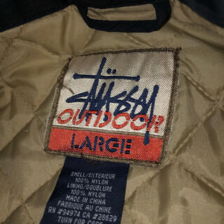 STUSSY - old stussy 80s90s RIPSTOP OUTDOOR JACKET