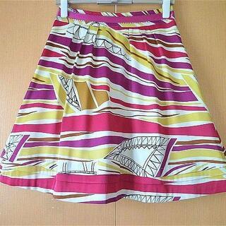 アナスイ(ANNA SUI)のボディードレッシングデラックス☆可愛らしいスカート (ひざ丈スカート)