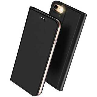 【D13】iPhone7/8(ブラック)手帳型マグネット付き