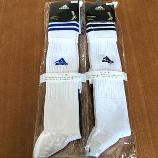 【新品】adidas  アディダス サッカー ソックス 25 〜 27cm