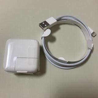 Apple - 10W USB 電源アダプタ 充電ケーブル USB ライトニング端子