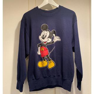 Disney - ★ミッキー トレーナー★【古着】