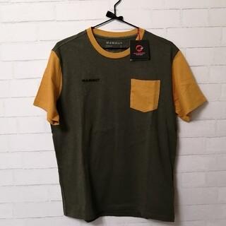 Mammut - 【新品】Mammut O T-Shirt Men アジアL カーキ×マスタード