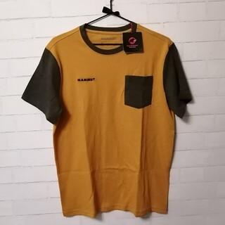 マムート(Mammut)の【新品】Mammut O T-Shirt Men アジアL マスタード×カーキ(登山用品)