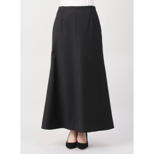 L'Appartement DEUXIEME CLASSE(アパルトモンドゥーズィエムクラス)のPunch Flareスカート 黒 38 レディースのスカート(ロングスカート)の商品写真