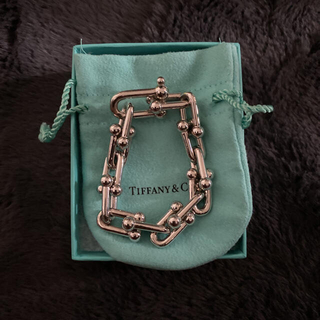 Tiffany & Co. - 確実正規品 ティファニーハードウェア ブレスレット