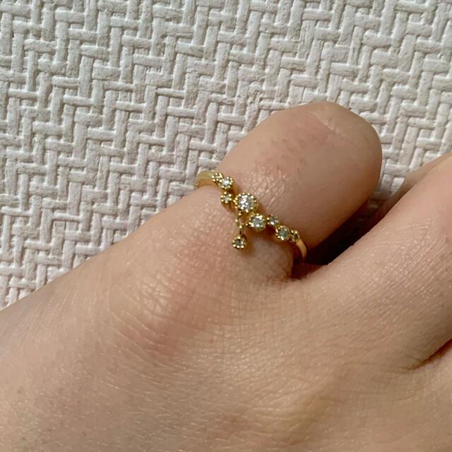 4℃(ヨンドシー)の【ゆき様専用】EAU DOUCE4℃ K18 リング レディースのアクセサリー(リング(指輪))の商品写真