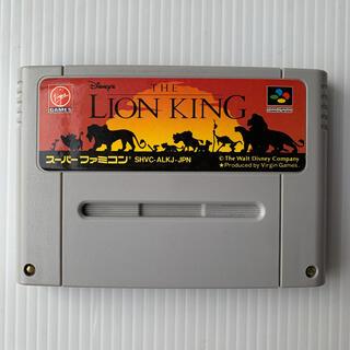 ディズニー(Disney)のライオンキング スーパーファミコン ソフト 任天堂(家庭用ゲームソフト)