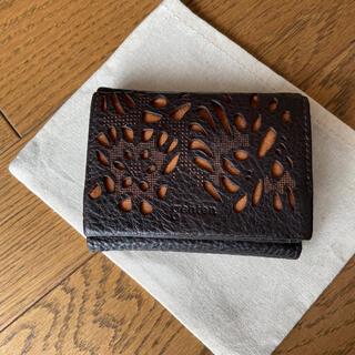 genten - ゲンテン genten 三つ折り財布
