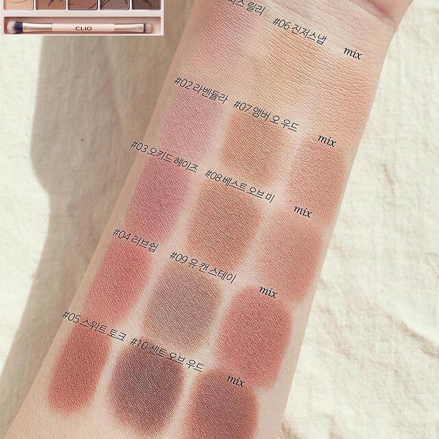 CLIO アイシャドウパレット09 コスメ/美容のベースメイク/化粧品(アイシャドウ)の商品写真