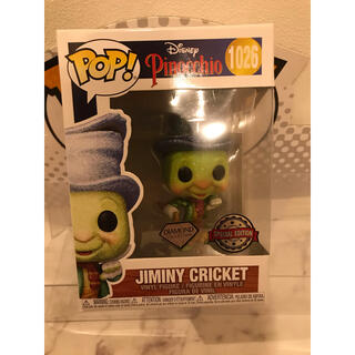 Disney - FUNKO POP!  ピノキオ ジミニークリケット ダイアモンドグリッター限定